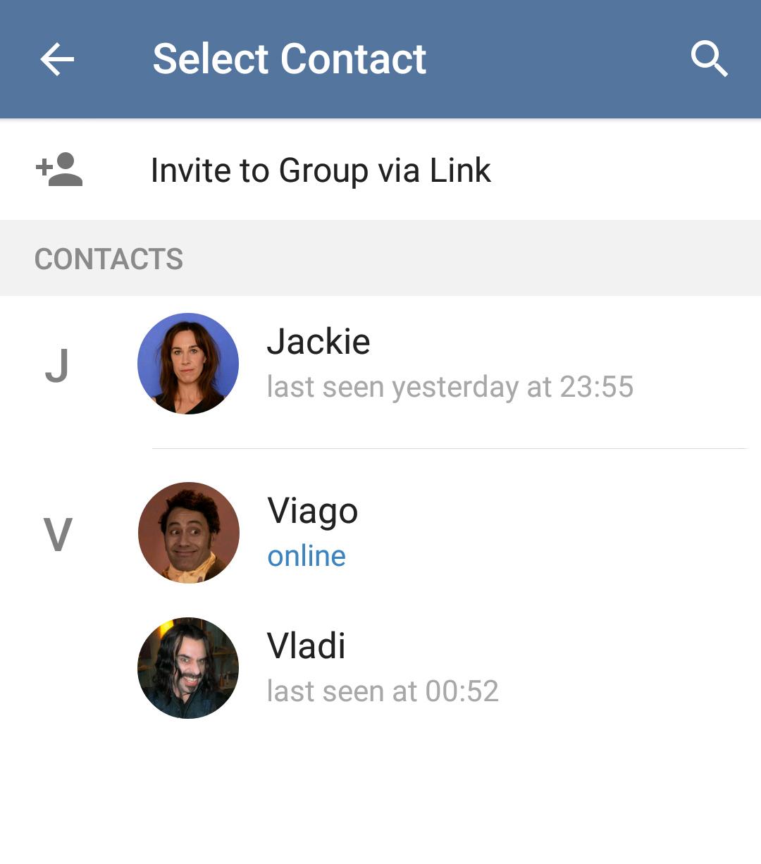 اد کردن در تلگرام