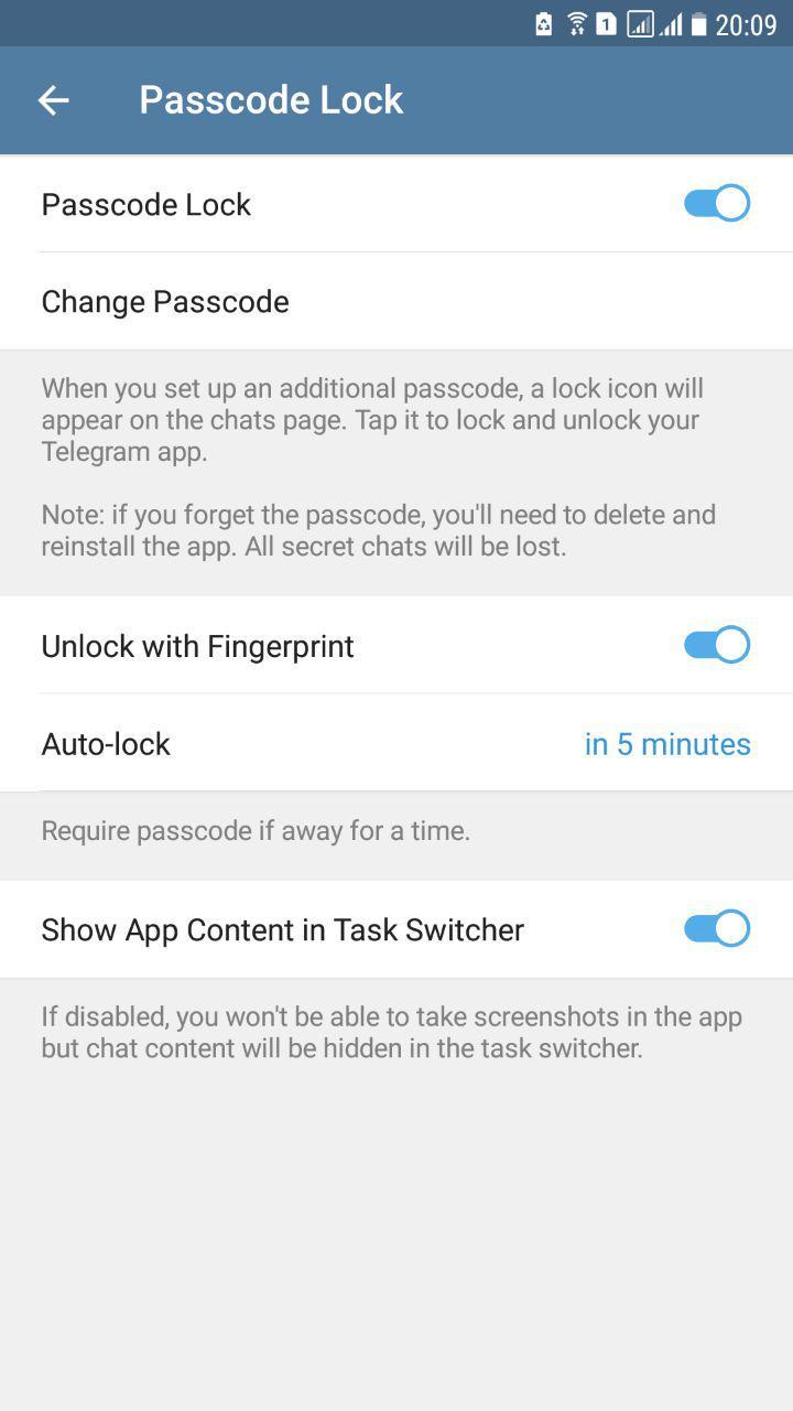 Passcode Lock چیست؟