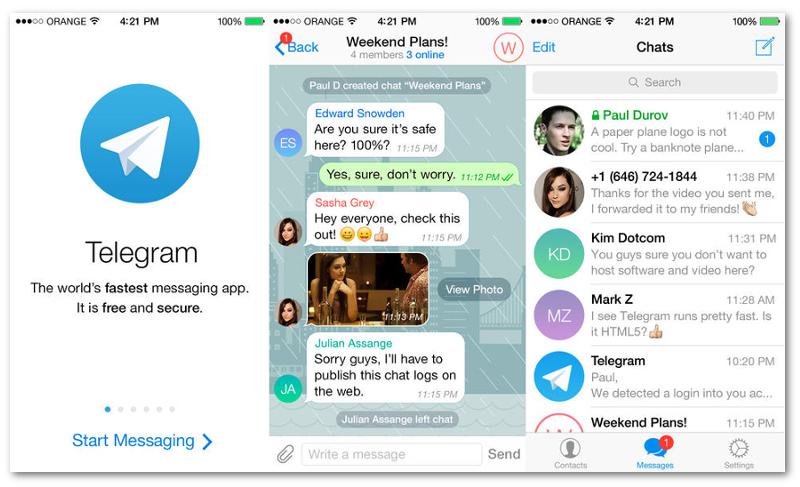 عضویت در گروههای تلگرام