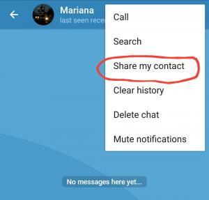 هک شماره تلفن در تلگرام