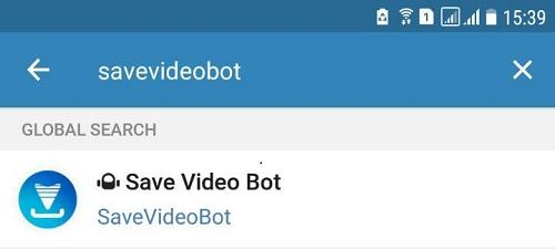 ربات دانلود ویدیو