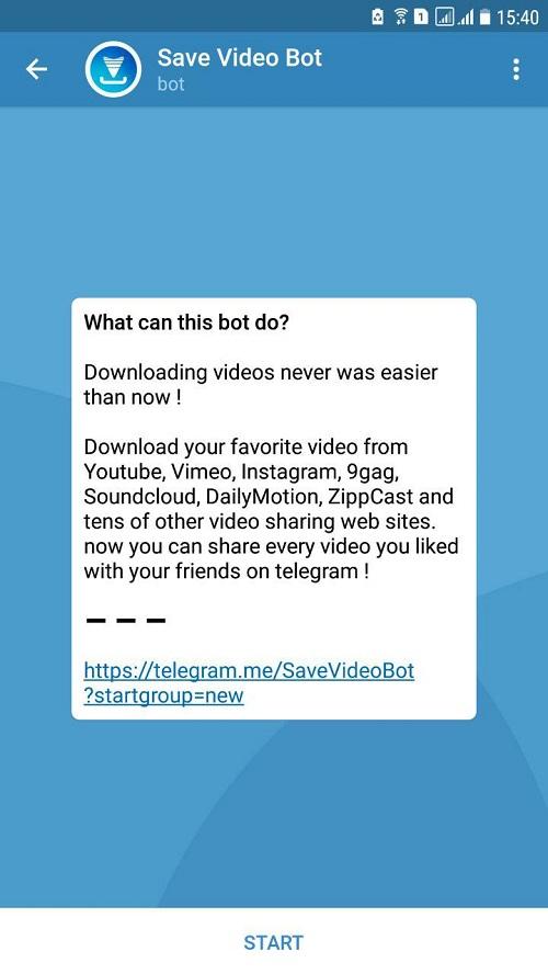 یوتیوب دانلودر تلگرام