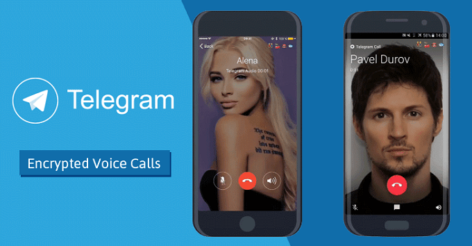 فعال کردن تماس صوتی تلگرام