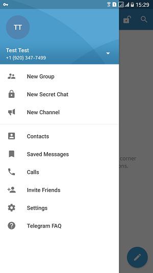 چگونه بدون سیم کارت وارد تلگرام شویم
