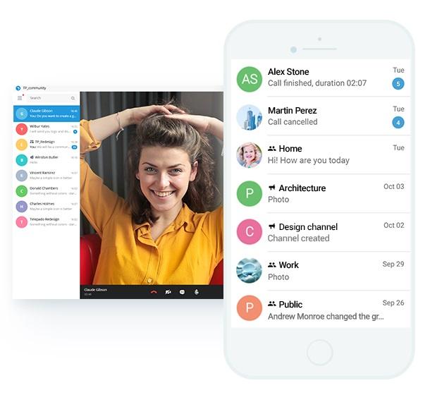 دانلود پیامرسان تلپادو Telepado برای اندروید + آیفون و کامپیوتر