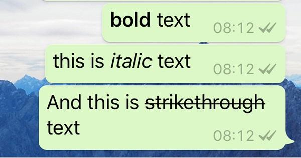 روش بولد Bold نوشتن و متن درشت در تلگرام