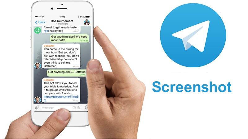 نگرفتن اسکرین شات تلگرام