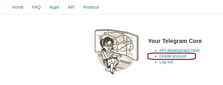 دانلود دیلیت اکانت تلگرام