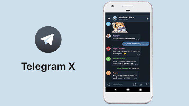 دانلود تلگرام ایکس
