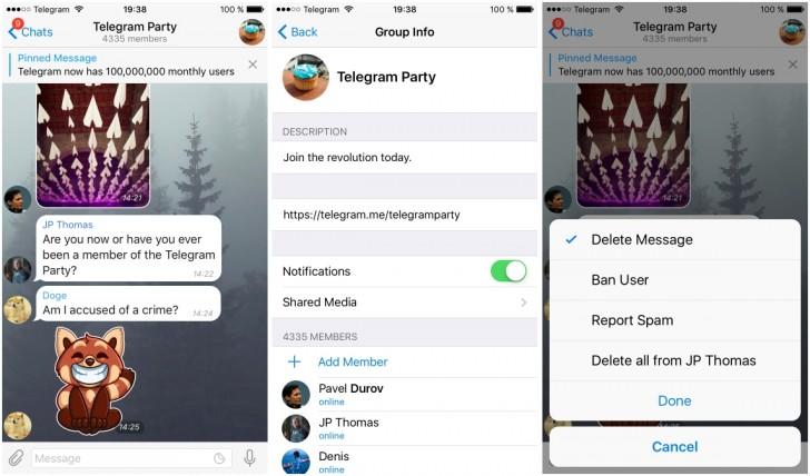 ساخت گروه عمومی تلگرام