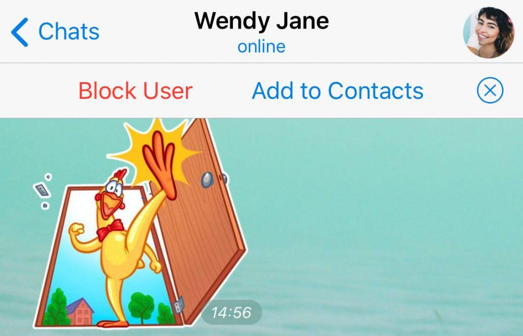 اد کردن بدون شماره در تلگرام