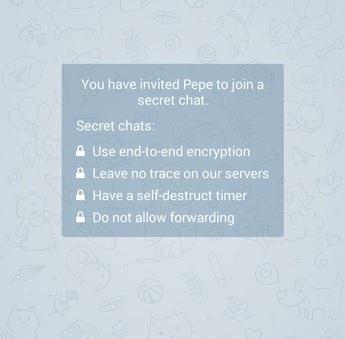 بررسی امنیت تلگرام