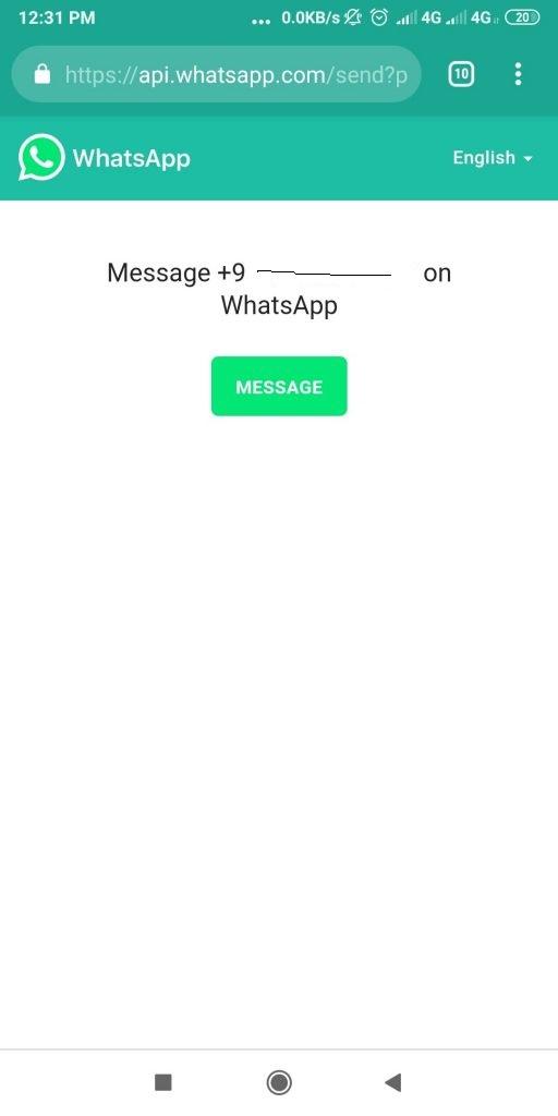 فرستادن پیام در تلگرام بدون افتادن شماره